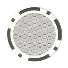 Roof Texture Poker Chip Card Guard