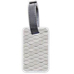 Roof Texture Luggage Tags (one Side)