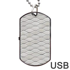 Roof Texture Dog Tag Usb Flash (two Sides)
