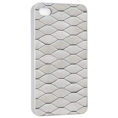 Roof Texture Apple iPhone 4/4s Seamless Case (White)