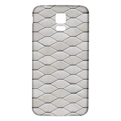 Roof Texture Samsung Galaxy S5 Back Case (White)