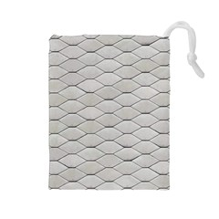 Roof Texture Drawstring Pouches (Large)