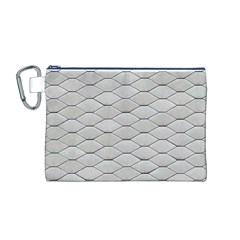 Roof Texture Canvas Cosmetic Bag (M)