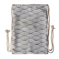 Roof Texture Drawstring Bag (Large)