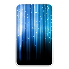 Blue Abstract Vectical Lines Memory Card Reader