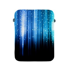 Blue Abstract Vectical Lines Apple Ipad 2/3/4 Protective Soft Cases