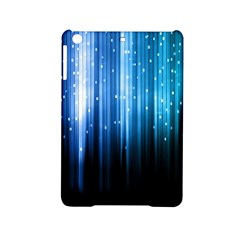 Blue Abstract Vectical Lines iPad Mini 2 Hardshell Cases