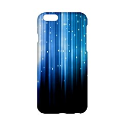 Blue Abstract Vectical Lines Apple iPhone 6/6S Hardshell Case