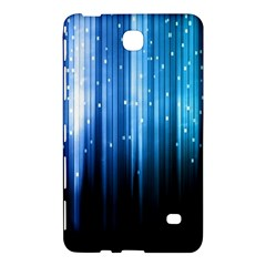 Blue Abstract Vectical Lines Samsung Galaxy Tab 4 (7 ) Hardshell Case
