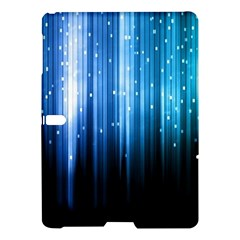 Blue Abstract Vectical Lines Samsung Galaxy Tab S (10.5 ) Hardshell Case