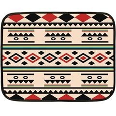 Tribal Pattern Fleece Blanket (Mini)