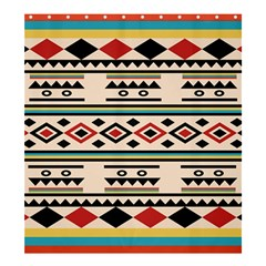 Tribal Pattern Shower Curtain 66  x 72  (Large)