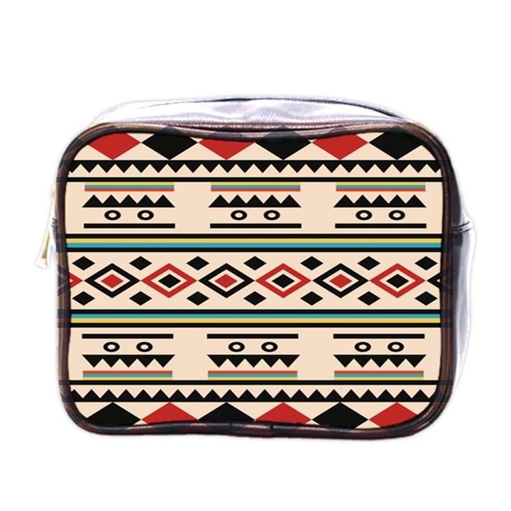 Tribal Pattern Mini Toiletries Bags