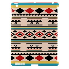 Tribal Pattern Apple iPad 3/4 Hardshell Case (Compatible with Smart Cover)