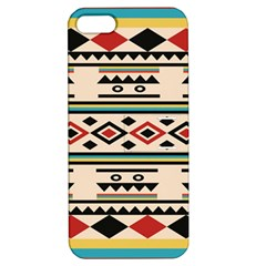 Tribal Pattern Apple Iphone 5 Hardshell Case With Stand