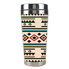 Tribal Pattern Stainless Steel Travel Tumblers