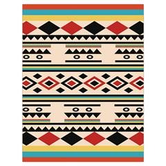 Tribal Pattern Drawstring Bag (large)