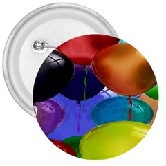 Colorful Balloons Render 3  Buttons