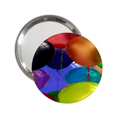 Colorful Balloons Render 2.25  Handbag Mirrors