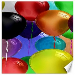 Colorful Balloons Render Canvas 12  x 12