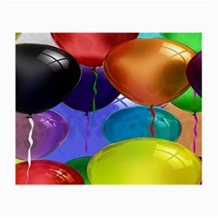 Colorful Balloons Render Small Glasses Cloth (2 Side)