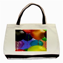 Colorful Balloons Render Basic Tote Bag (Two Sides)