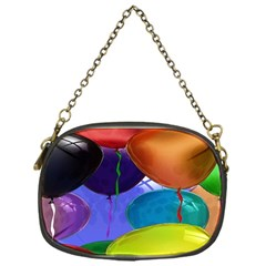 Colorful Balloons Render Chain Purses (One Side)