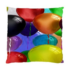 Colorful Balloons Render Standard Cushion Case (Two Sides)