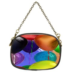 Colorful Balloons Render Chain Purses (Two Sides)