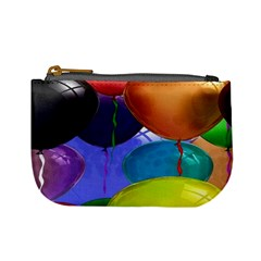 Colorful Balloons Render Mini Coin Purses