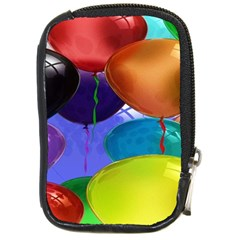 Colorful Balloons Render Compact Camera Cases