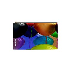 Colorful Balloons Render Cosmetic Bag (small)