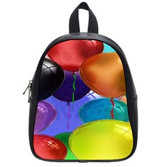 Colorful Balloons Render School Bags (Small)