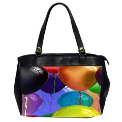 Colorful Balloons Render Office Handbags (2 Sides)