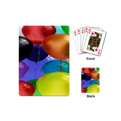 Colorful Balloons Render Playing Cards (Mini)