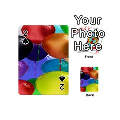 Colorful Balloons Render Playing Cards 54 (mini)