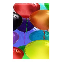 Colorful Balloons Render Shower Curtain 48  X 72  (small)