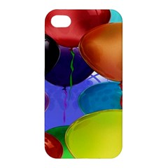 Colorful Balloons Render Apple Iphone 4/4s Hardshell Case