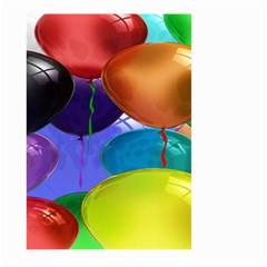 Colorful Balloons Render Large Garden Flag (two Sides)