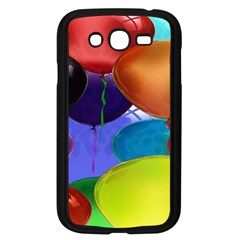 Colorful Balloons Render Samsung Galaxy Grand DUOS I9082 Case (Black)
