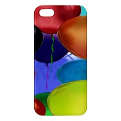 Colorful Balloons Render iPhone 5S/ SE Premium Hardshell Case