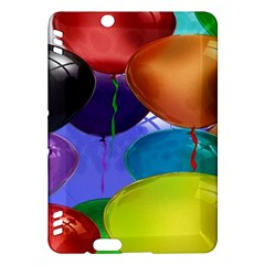 Colorful Balloons Render Kindle Fire HDX Hardshell Case