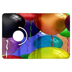Colorful Balloons Render Kindle Fire Hdx Flip 360 Case