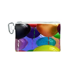Colorful Balloons Render Canvas Cosmetic Bag (s)