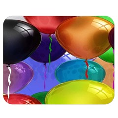Colorful Balloons Render Double Sided Flano Blanket (medium)