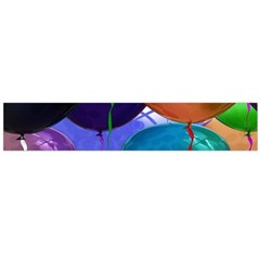 Colorful Balloons Render Flano Scarf (large)