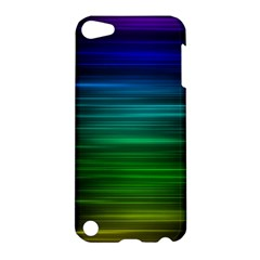 Blue And Green Lines Apple Ipod Touch 5 Hardshell Case