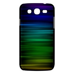 Blue And Green Lines Samsung Galaxy Mega 5 8 I9152 Hardshell Case