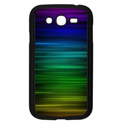 Blue And Green Lines Samsung Galaxy Grand DUOS I9082 Case (Black)