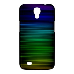 Blue And Green Lines Samsung Galaxy Mega 6 3  I9200 Hardshell Case